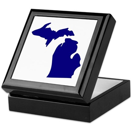 Michigan Keepsake Box