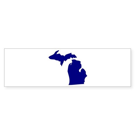 Michigan Sticker (Bumper)