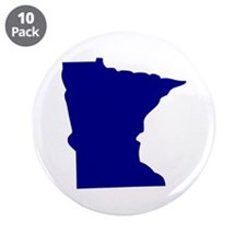 "Minnesota 3.5"" Button (10 pack)"