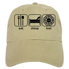 Eat Sleep Lost Baseball Cap