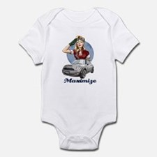 PinUp Driver White Cafe Body Suit