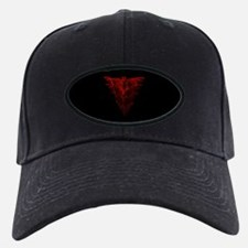 Bat Red Baseball Cap