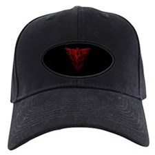 Bat Red Baseball Hat