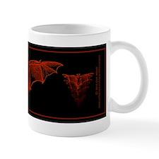 Bat Red Small Mugs