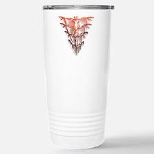Bat Red Travel Mug