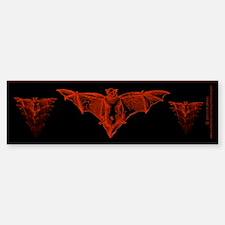 Bat Red Sticker (Bumper)