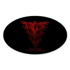 Bat Red Decal