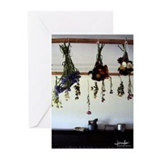 Drying Flowers Blank Note Cards (Pk of 10)