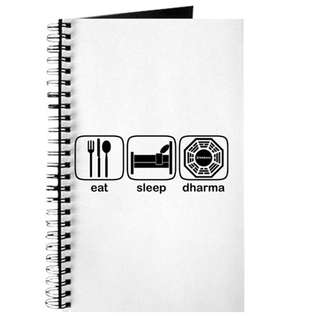 Eat Sleep Dharma Journal