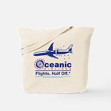 Oceanic. Flights. Half Off. Tote Bag