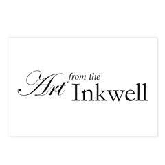 Art from the Inkwell Postcards (Package of 8)