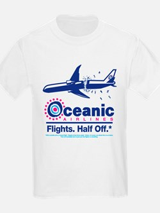 Oceanic. Flights. Half Off. T-Shirt