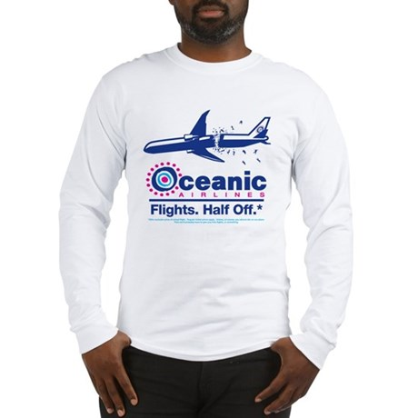Oceanic. Flights. Half Off. Long Sleeve T-Shirt