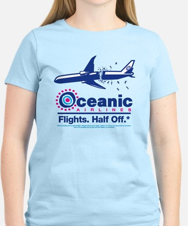 Oceanic. Flights. Half Off. Women's Light T-Shirt