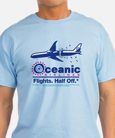 Oceanic. Flights. Half Off. T-Shirt