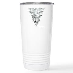 Bat Smoke Stainless Steel Travel Mug
