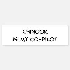Co-pilot: Chinook Bumper Bumper Bumper Sticker