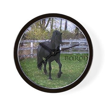 Baron Trot Wall Clock