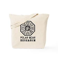 Hydra Polar Bear Research Tote Bag