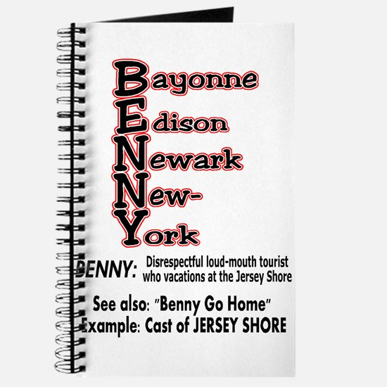What's A Benny? Journal