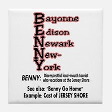 What's A Benny? Tile Coaster