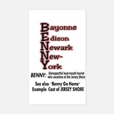 What's A Benny? Decal