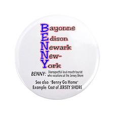 """Blue Bennies 3.5"""" Button"""