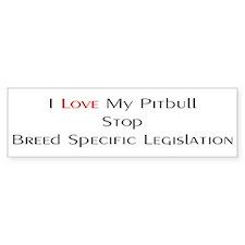 Stop BSL Bumper Bumper Sticker
