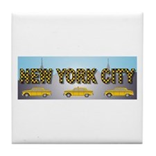 Unique Taxi Tile Coaster