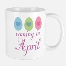 April Maternity Easter Egg Mug