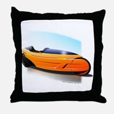 Velomobile Concept Throw Pillow