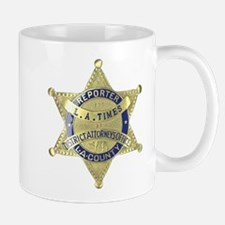 District Attorney Reporter Mug