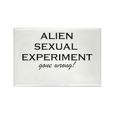 Alien Sex Rectangle Magnet