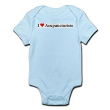 I Love Acupuncturists Infant Creeper