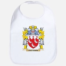 Pattison Family Crest - Coat of Arms Baby Bib