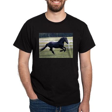 Baron Galloping Black T-Shirt