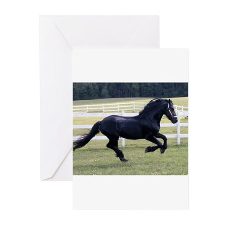 Baron Galloping Greeting Cards (Pk of 10)