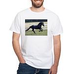 Baron Galloping White T-Shirt