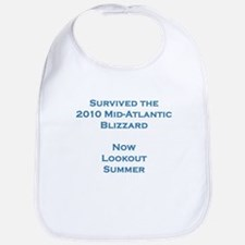 Survived 2010 Blizzard Bib