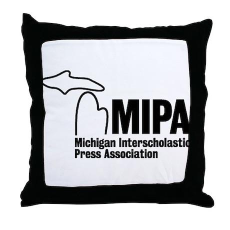 MIPA Throw Pillow