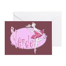Merde v.2 Greeting Card