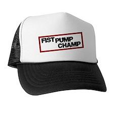 Funny Seaside heights italian Trucker Hat