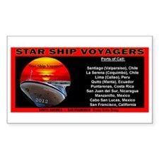 Star Ship Voyagers Cruise - Decal