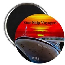 Star Ship Voyagers Cruise - Magnet