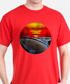 Star Ship Voyagers Cruise - T-Shirt