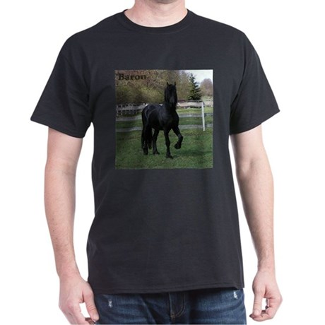 Baron Heads up Black T-Shirt