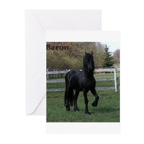 Baron Heads up Greeting Cards (Pk of 10)