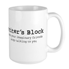 Writer's Block Ceramic Mugs