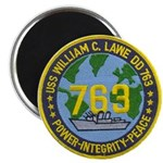 USS WILLIAM C. LAWE Magnet