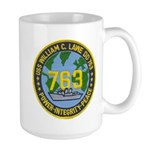 USS WILLIAM C. LAWE Large Mug